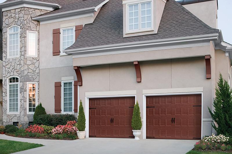 Garage Doors Springfield Mo #35: Steel Carriage House Garage Doors: